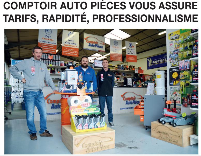 Comptoir Auto Pièce dans Le Dauphiné